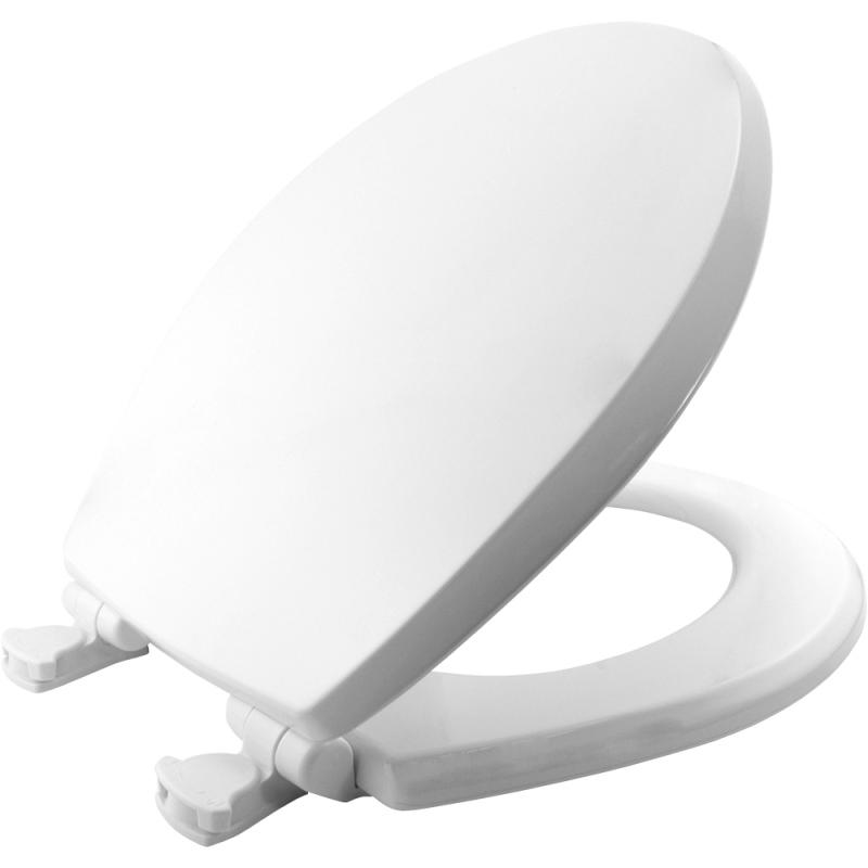 d shaped wooden toilet seat. Bemis Boston 600AEL Moulded Wood Toilet Seat  Slow Close CB18 Saturn D Shaped Soft Plastic BR03 SME Sales Ltd